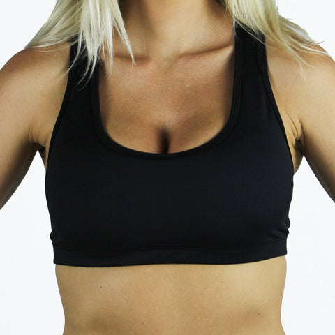 Miss Monstr Active Bra (Black)