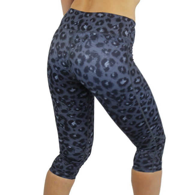 Miss Monstr Capri Tights High Waist (Leopard)