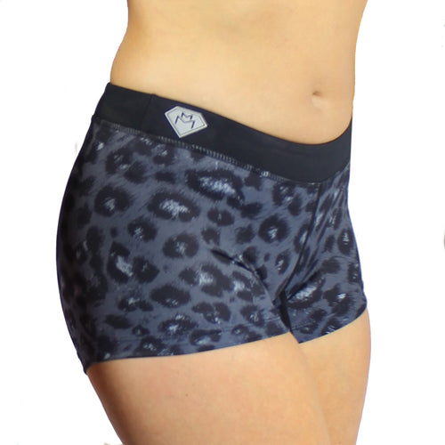 Miss Monstr Shorts (Leopard)
