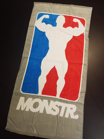 Monstr Gym Towel - Muscle Man