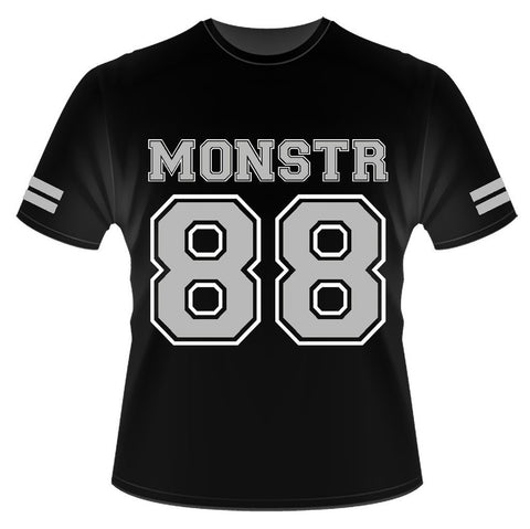 Monstr 88 tee (Black/Grey)