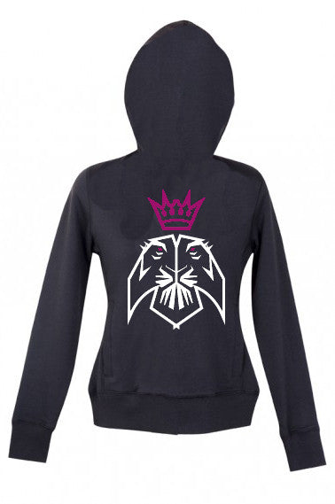Ladies Lion Zip up