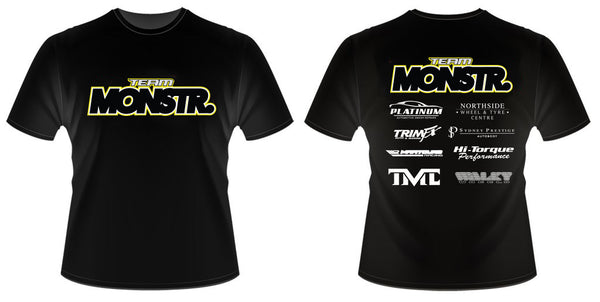 KIDS Monstr Team Shirt (Yellow)
