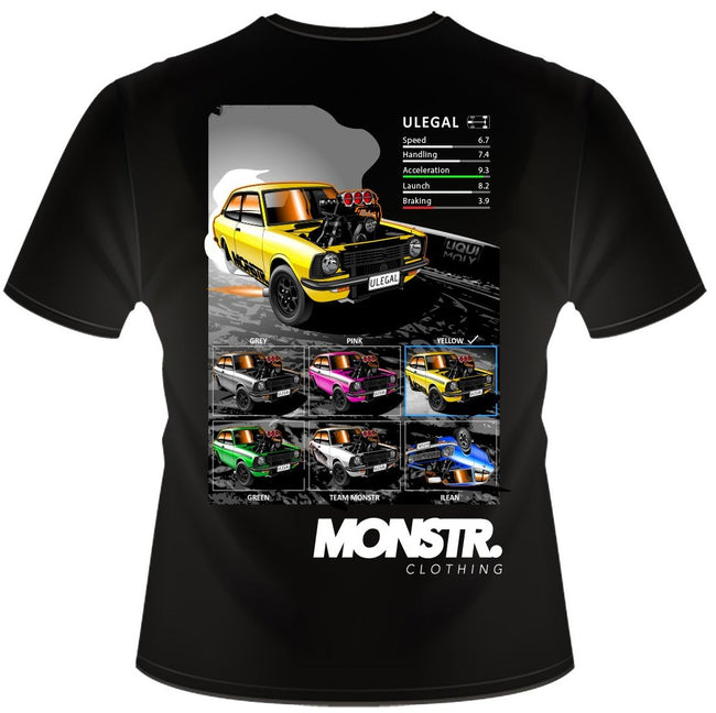 Team Monstr ULEGAL Tee