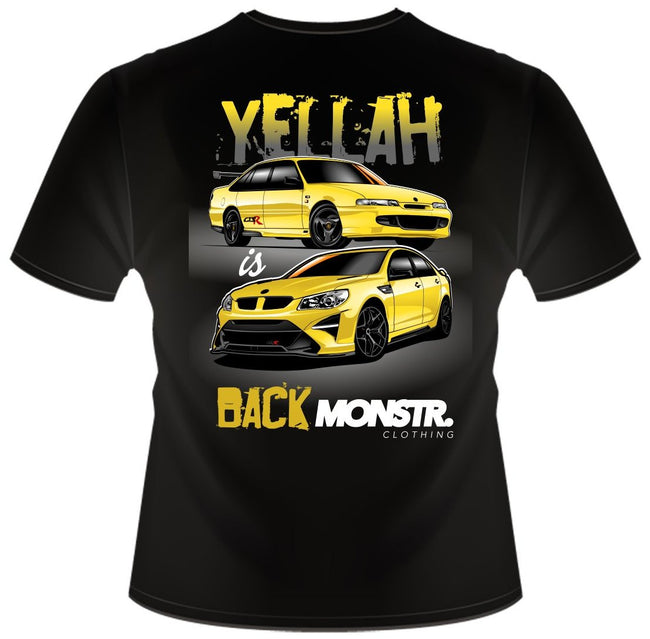 Team Monstr Yellah Tee