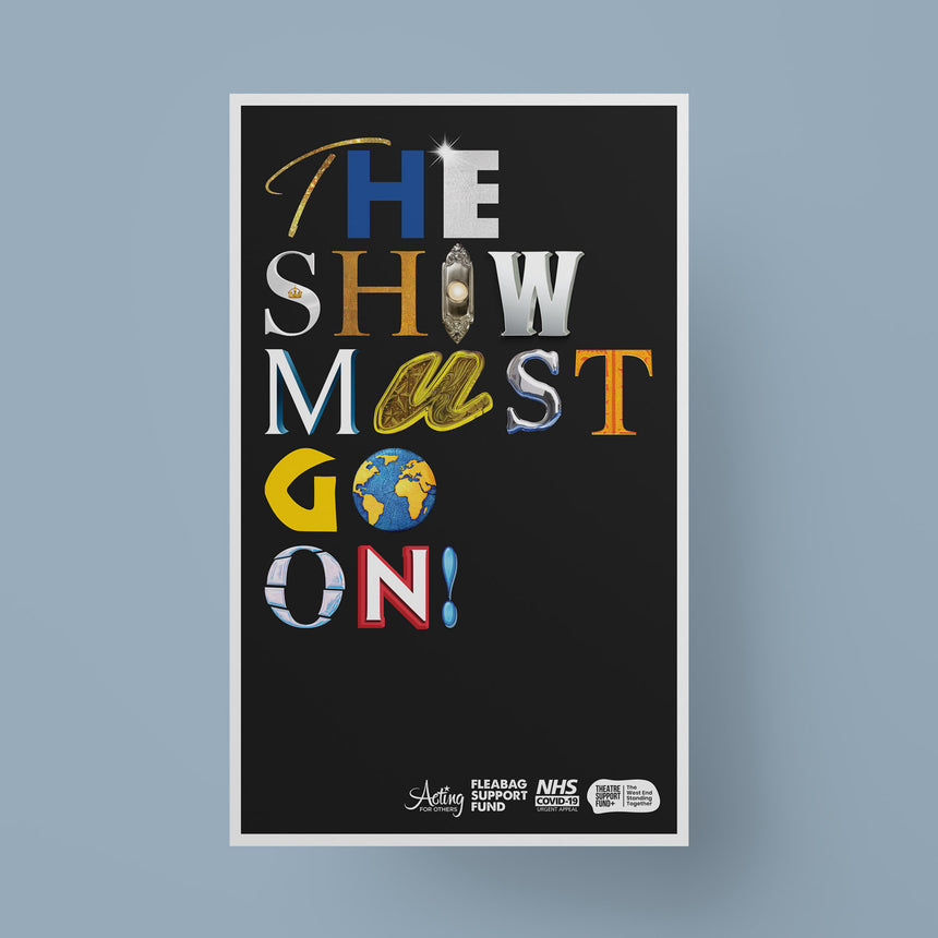 The Show Must Go On! - Poster