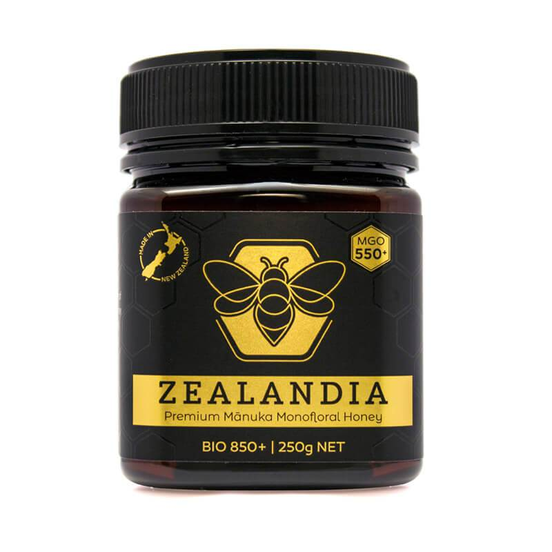 Manuka Honey from New Zealand crafted by Zealandia Honey®