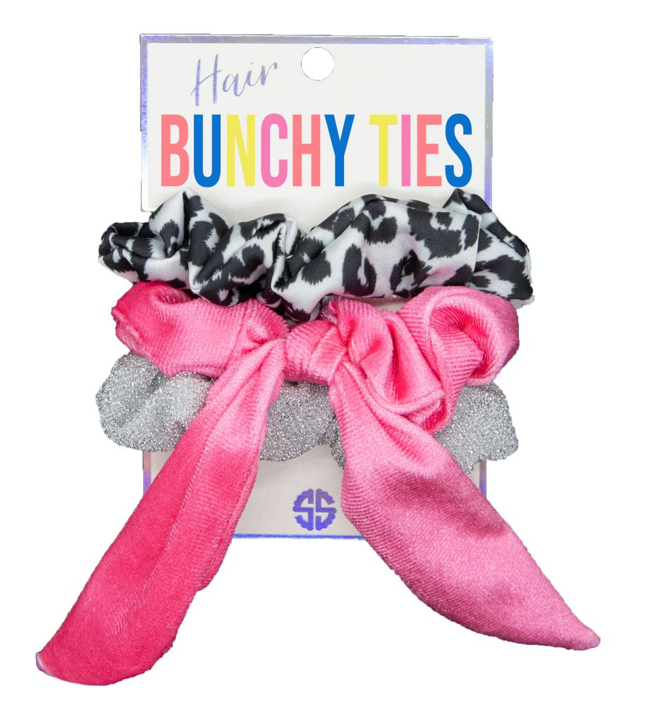 Bunchy Ties - Snow Leopard