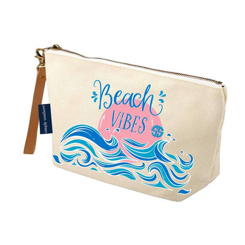Canvas Pouch - Beach Vibes