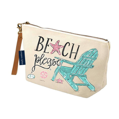 Canvas Pouch - Please