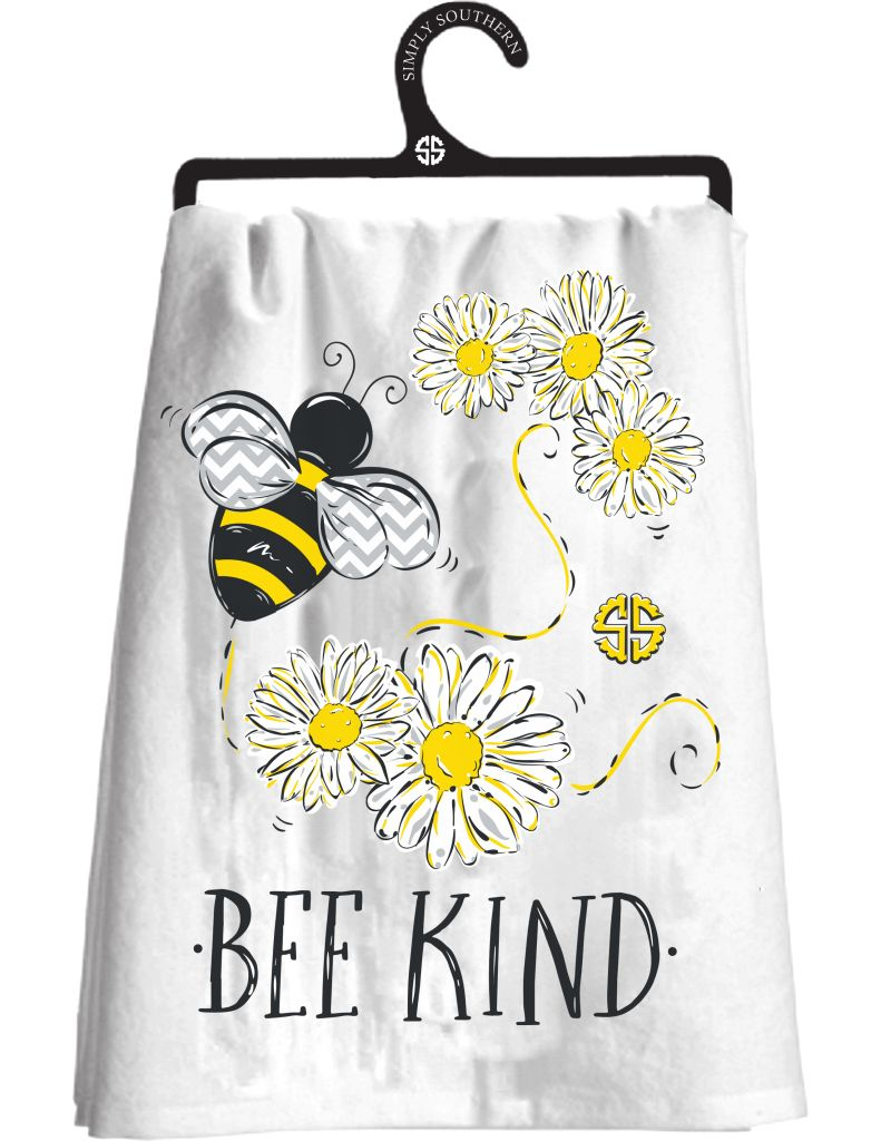 Bee Kind Happy Towel