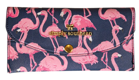 Large Card Holder - Flamingo