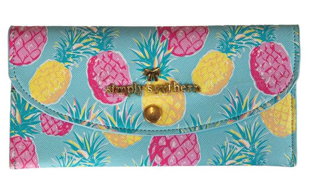 Large Card Holder - Pineapple