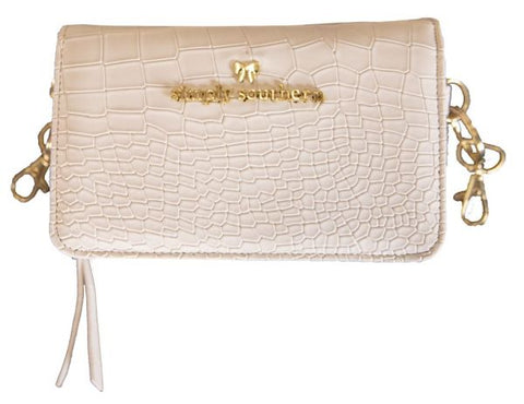 Phone Crossbody Purse - White