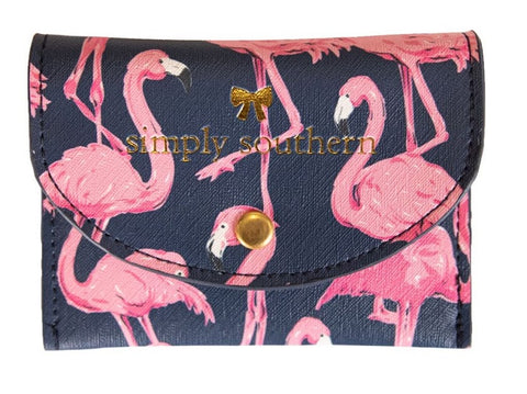 Small Card Holder - Flamingo