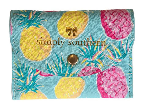 Small Card Holder - Pineapple