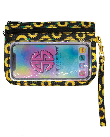 Phone Wristlet - Sunflower