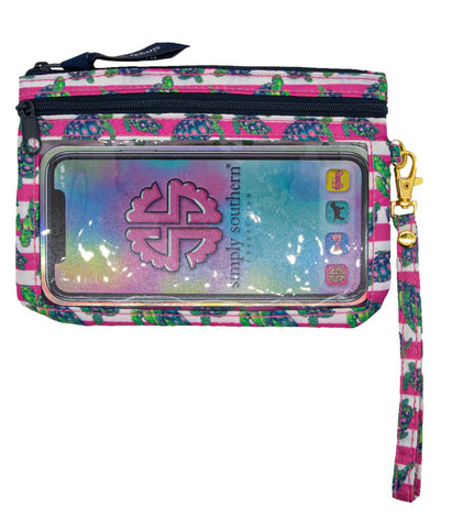 Phone Wristlet - Turtles