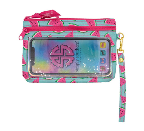 Phone Wristlet - Watermelon