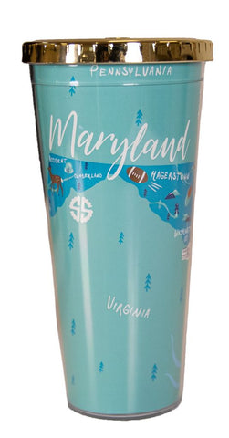 State of Maryland Tumbler