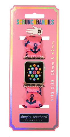 Scrunchie Apple Watch Band - Anchor