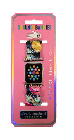 Scrunchie Apple Watch Band - Pineapple