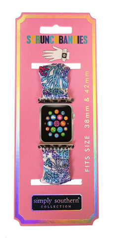 Scrunchie Apple Watch Band - Reef