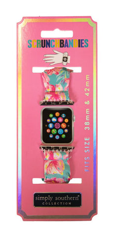 Scrunchie Apple Watch Band - Tropic