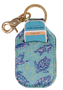 Keychain Sanitizer Holder - Turtle