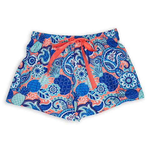 Lounge Shorts - Paisley