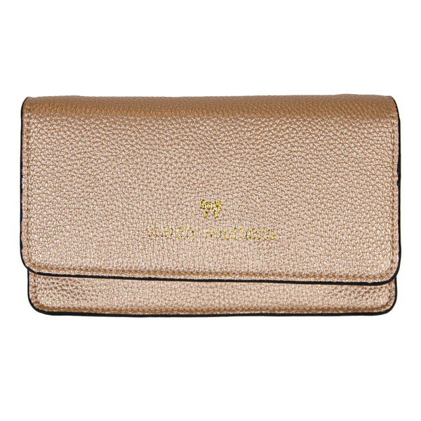 Phone Clutch - Gold