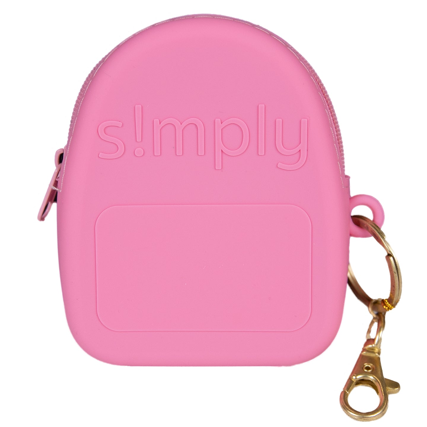 Silicone Backpack Coin Purse - Flamingo