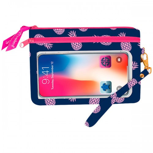 Phone Wristlet - Pineapple