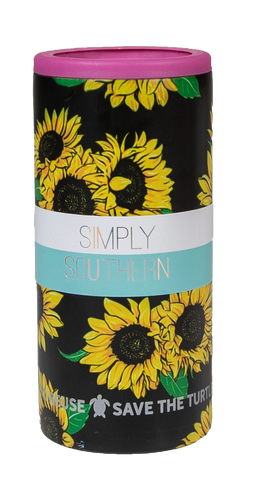 Can Cooler - Sunflower