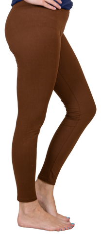 Brown Leggings by Simply Southern