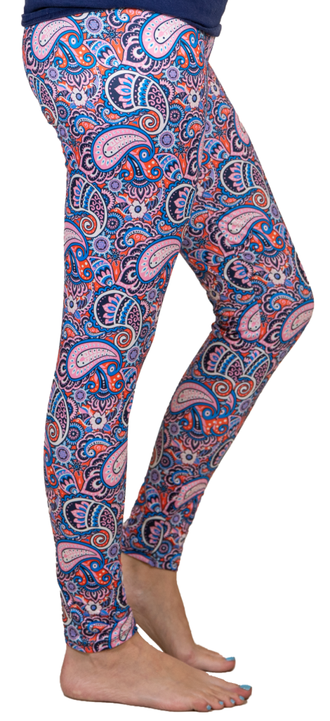 Paisley Leggings by Simply Southern