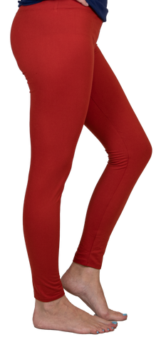 Red Leggings by Simply Southern