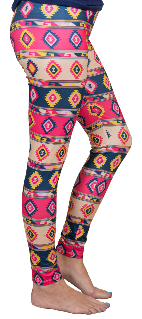 Aztec Leggings by Simply Southern