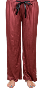 Maroon Lounge Pants by Simply Southern