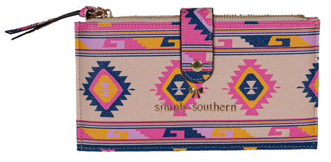 Double Zip Wallet - Symi