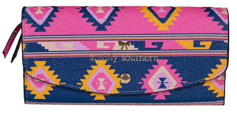 Large Card Holder Wallet - Symi