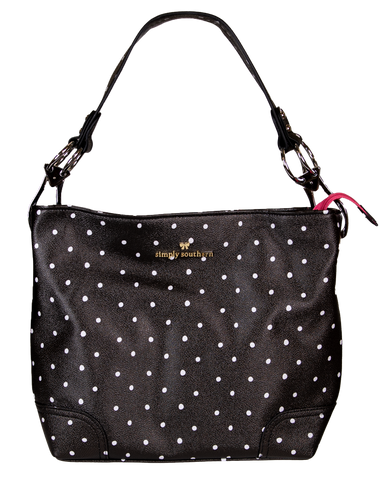 Dots Leather Purse