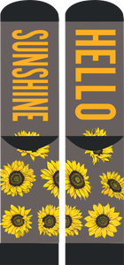 """Hello Sunshine"" Sunflower Socks by Simply Southern"