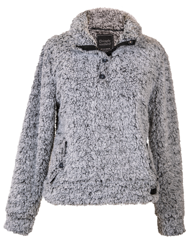 Washed Grey Sherpa by Simply Southern
