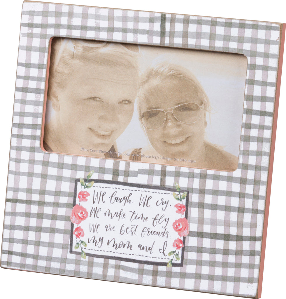 mom and daughter picture frame