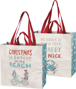 Market Tote - Christmas Is Better At The Beach