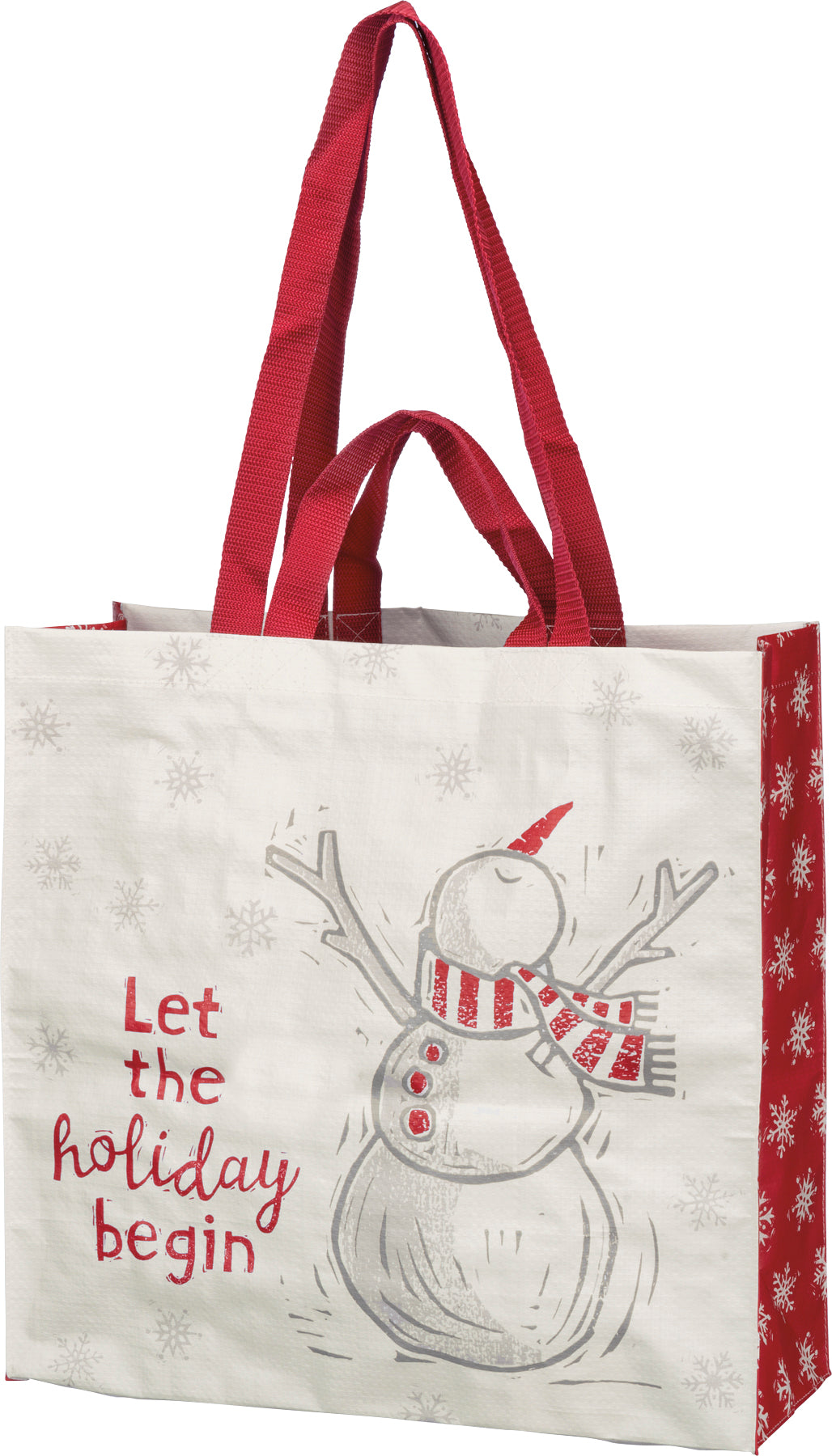 Market Tote - Let The Holiday Begin