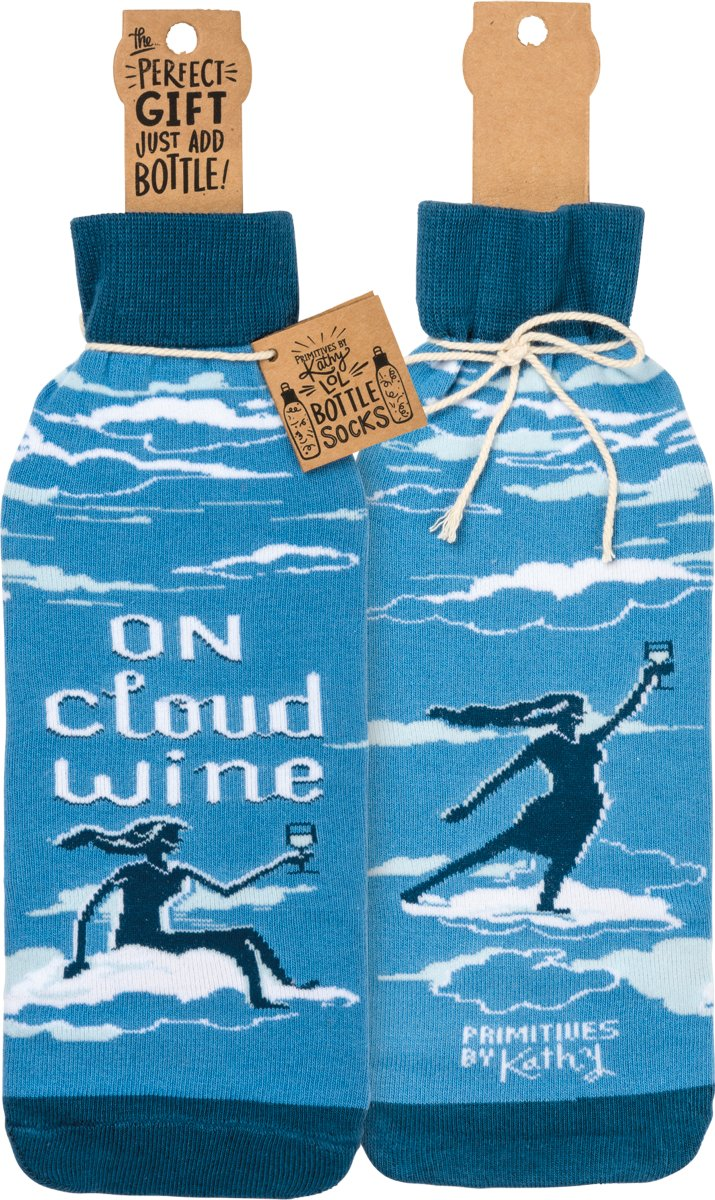 Bottle Cover - On Cloud Wine