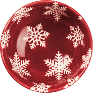 Small Bowl - Snowflake