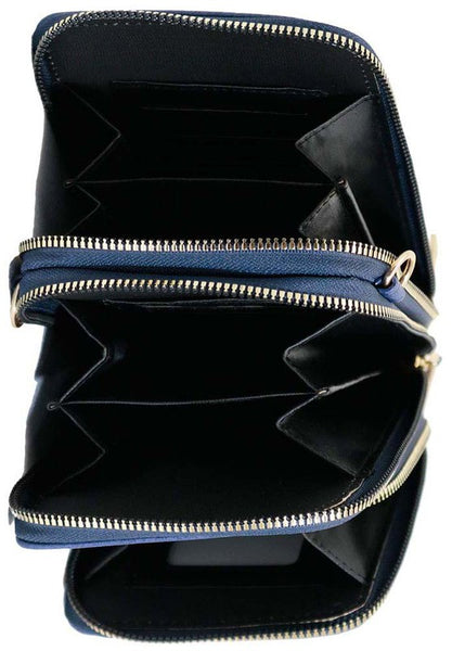 Crossbody Cellphone Purse - Navy